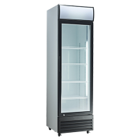 Exquisite One Door Upright Display Fridge - DC400P