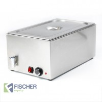 Fischer Hot Bain Marie, Full Size GN Tray - 8710.1.1