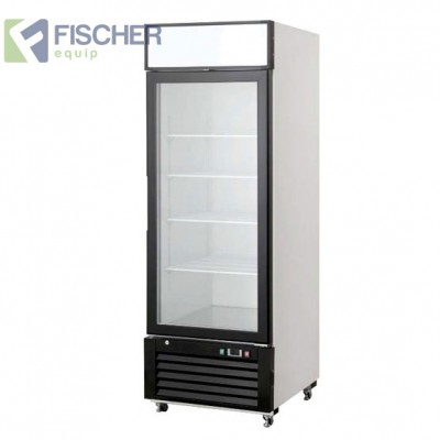 Single Glass Door Fridge 590L - BCC01-GL