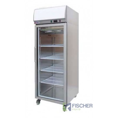 Single Glass Door Fridge 400L - YCC01-LB