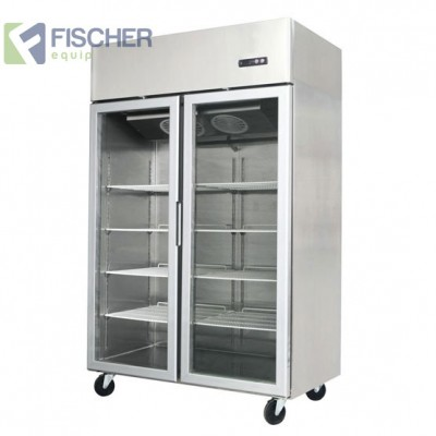 Double Glass Door Freezer 1300L - MCF02-GL