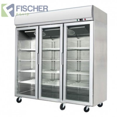 Triple Glass Door Freezer 1400L - YCF03-LB