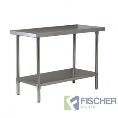 1524 x 610mm Stainless Steel Bench #304 Grade