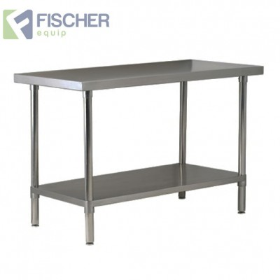 1829 x 610mm Stainless Steel Bench #304 Grade
