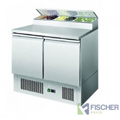 2 Door Saladette Prep Fridge - ES02-69