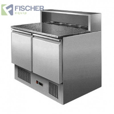 Fischer 2 Door Saladette Prep Fridge - ES02-58