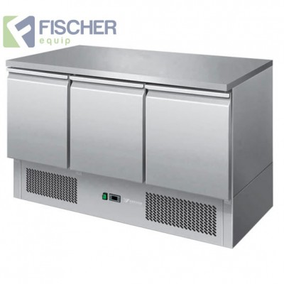 Fischer 3 Door Saladette Prep Fridge - ES03-51