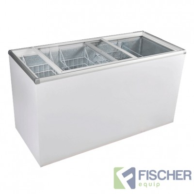 SD-510 Glass Top Chest Freezer