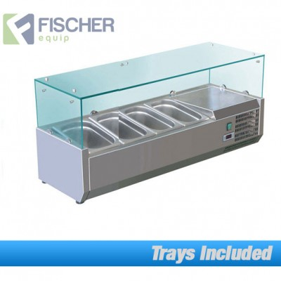 Fischer Cold Bain Marie, 4 x 1/3 GN Trays Included VRX-1200T