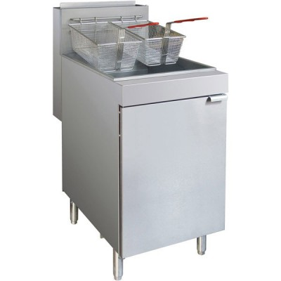 Superfast Gas 4-Tube Twin Vat Fryer