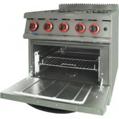 Four Gas Burner With Large Oven FD-JZH-RP-4