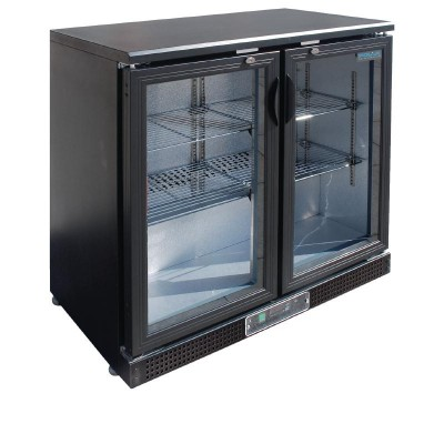 Polar Double Hinge Door Back Bar Cooler