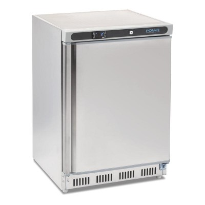 Polar Undercounter Fridge 150L Stainless Steel