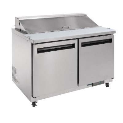 Polar 2 Door Preparation Counter Stainless Steel