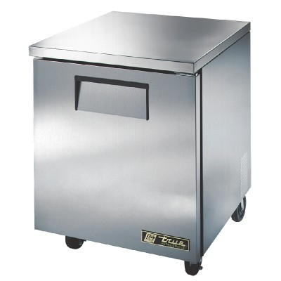 True Undercounter Fridge 1 Door Stainless Steel