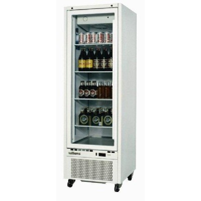 Williams Upright Single Glass Door Fridge 400L