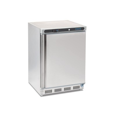 Polar Undercounter Freezer Stainless Steel 140L