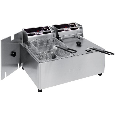 Birko Double Deep Fryer - 10L