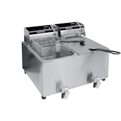 Birko Double Deep Fryer - 16L