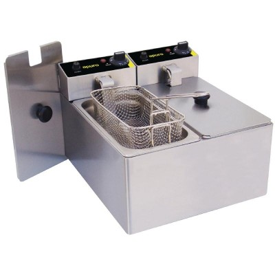Apuro Double Basket Deep Fryer - 6L